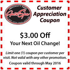 $3 Off Your Next Oil Change